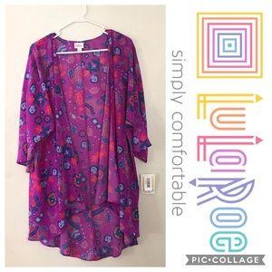 LuLaRoe Lindsay Kimono NWT Large